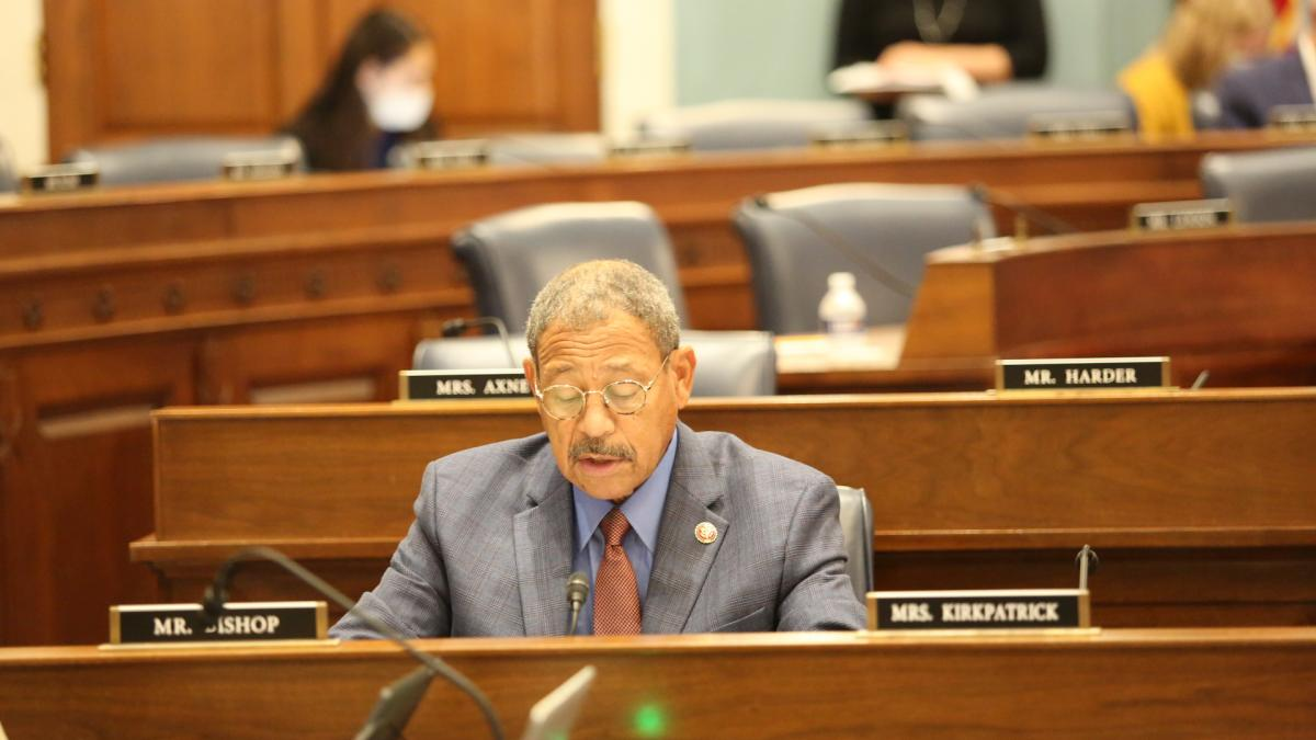 Congressman Sanford D. Bishop, Jr. (GA02) leads the U.S. House Agriculture Committee in adopting a resolution establishing July as National Blueberry Month